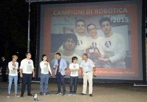 Campioni di robotica 2015