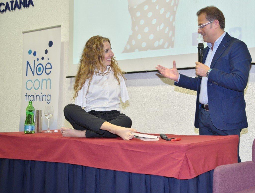 Con Simona Atzori